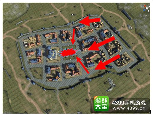 3D坦克争霸包围战术