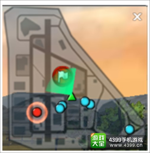 3D坦克争霸战斗地图二