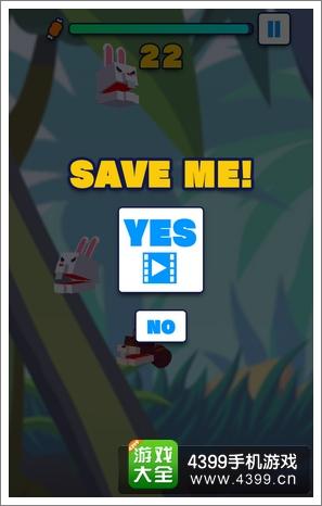 盒动物岛game over
