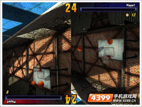 街头篮球挑战玩家对战