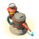 海岛奇兵火焰喷射器