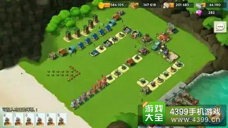海岛奇兵防御阵型