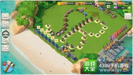 海岛奇兵奇葩阵型