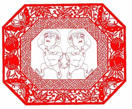当海岛奇兵遇上中国传统剪纸艺术
