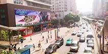 全民备战热血枪战 《合金英雄》巨幅广告现身广州天河