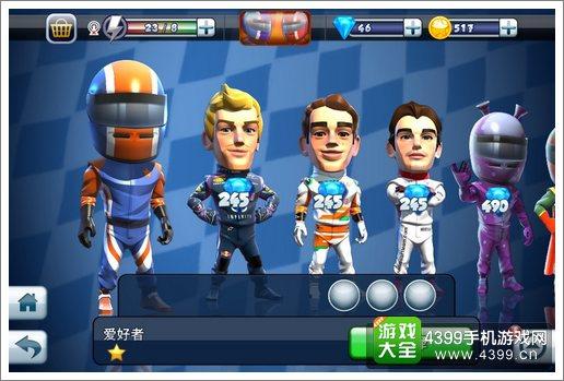 F1 race stars我的车队