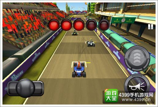 F1 race stars赛车方向控制