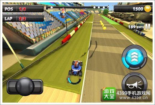 F1 race stars加速按钮