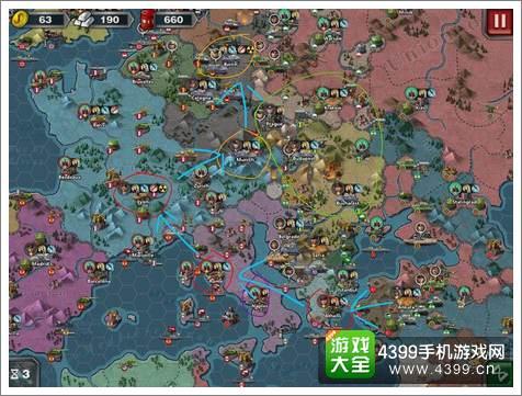 世界征服者3征服攻略