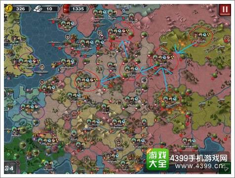 世界征服者3无将征服攻略
