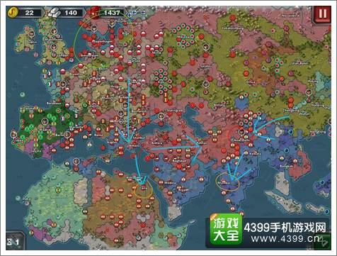 世界征服者3无将多国征服攻略