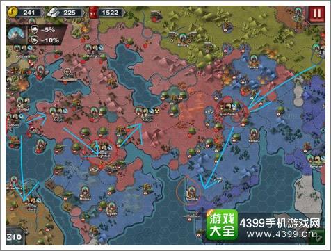 世界征服者3无将多国征服教程