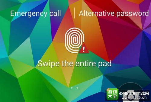 手机指纹扫描器