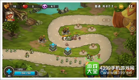 城堡突袭2第2-2关树精