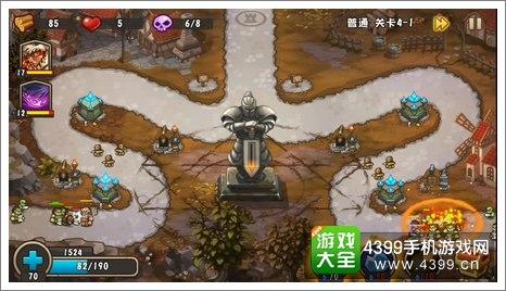 城堡突袭2第4-1关技能