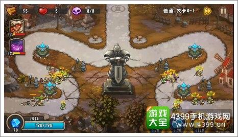 城堡突袭2第4-1关结尾