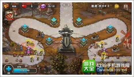 城堡突袭2第4-3关结尾