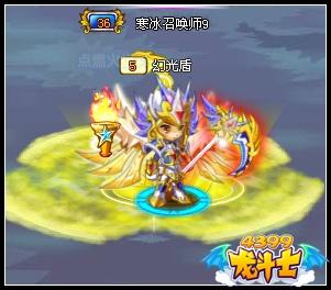龙斗士召唤师技能秀