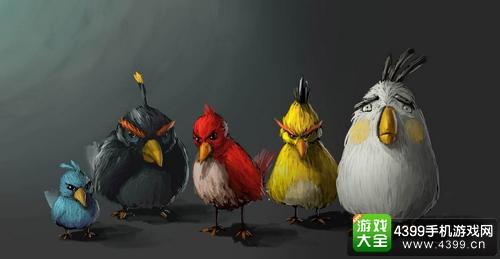 《愤怒的小鸟》推乐高主题玩具