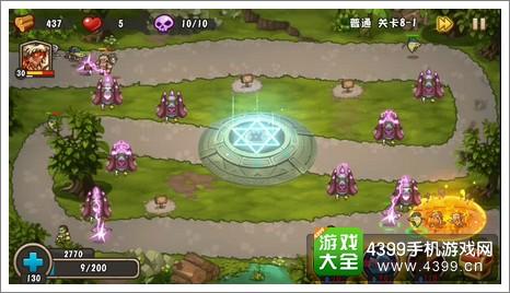 城堡突袭2第8-1关技能2