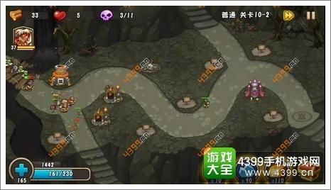 城堡突袭2第10-2关位置