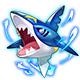 热血精灵王巨牙鲨