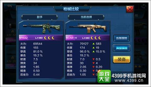 全民突击SCAR-H与M16A2详细比较解析