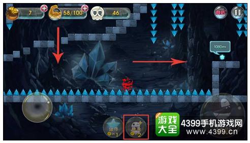 囧囧侠大冒险深渊洞窟-12
