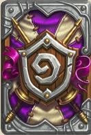 炉石传说冠军的试炼卡背