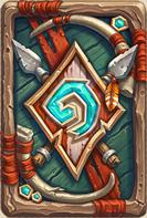 炉石传说暗矛巨魔卡背