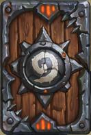 炉石传说战争之王卡背