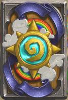 炉石传说炫丽彩虹卡背