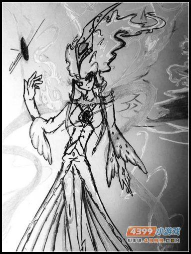 卡布手绘—炽焰凤凰超进化拟人