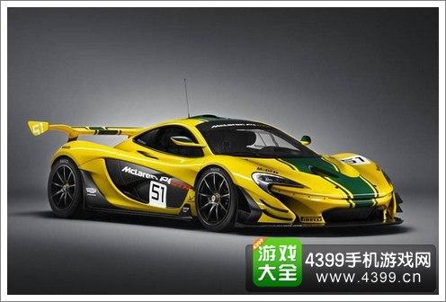 狂野飙车8迈凯伦超级跑车P1