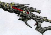生死狙击玩家手绘―炎魔咆哮之怒
