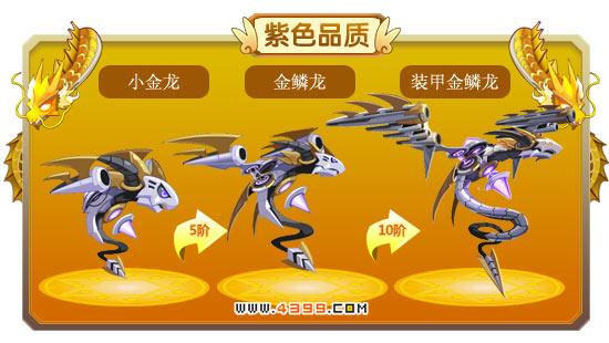 龙斗士小金龙-金鳞龙-装甲金鳞龙进化图鉴 属性