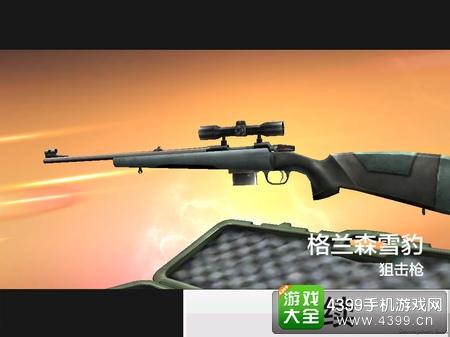 反恐精英狙击枪