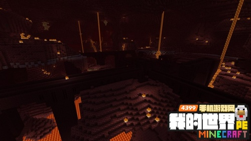我的世界手机版地狱堡垒怎么去 地狱城堡有什么图片