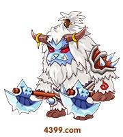 国王的勇士5双斧雪兽