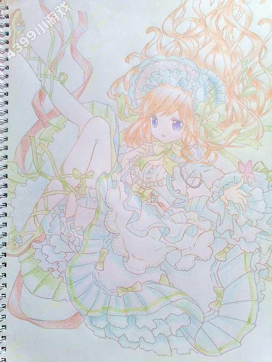 小花仙手绘安的洛丽塔--4399聆妖