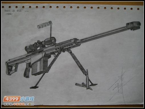 生死狙击玩家手绘—炫酷巴雷特