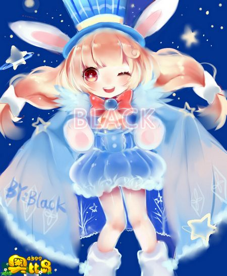 星际魔法兔拟人