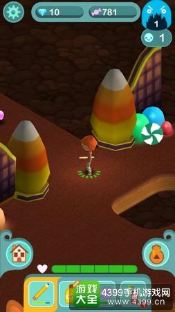 糖果洞穴玩法