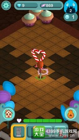糖果洞穴场景