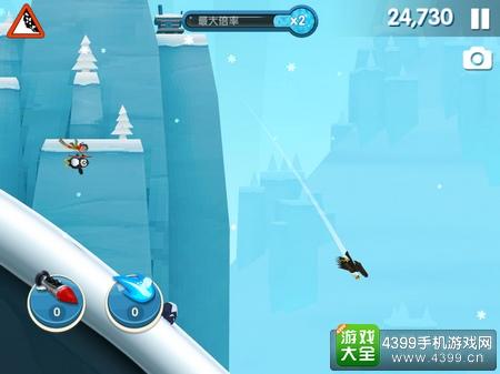 滑雪大冒险2画面