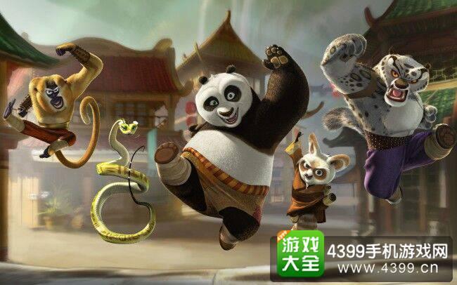 功夫熊猫攻略