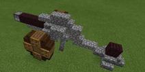 我的世界炮台怎么做 建筑小部件教程