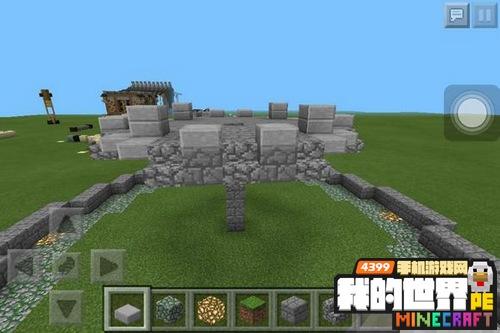 我的世界喷泉建筑教程