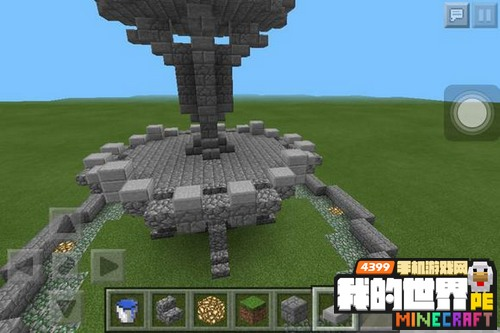我的世界喷泉建筑教程 喷泉设计图