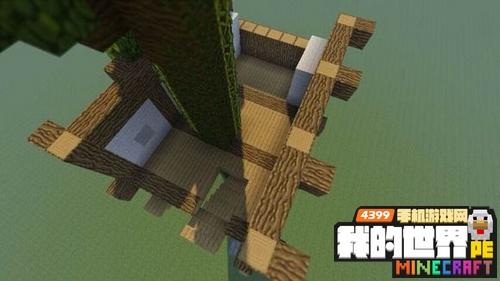我的世界树屋设计图